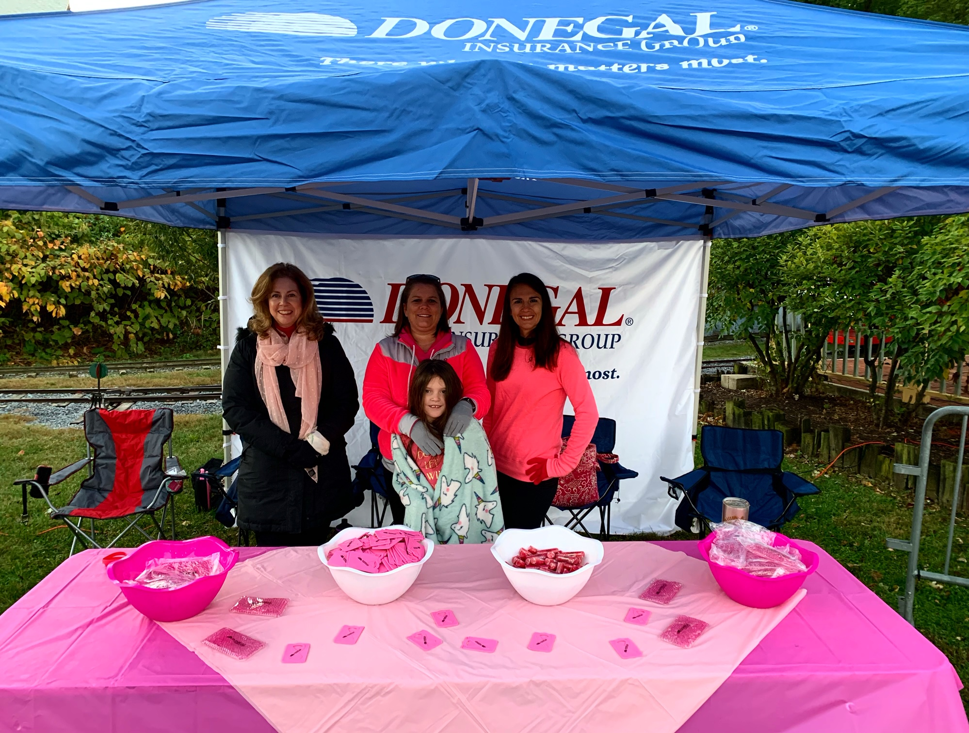 Donegal Employees Volunteering at the Breast Cancer Walk