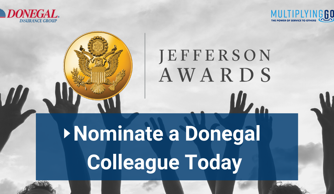 Nominate a Donegal Colleague for a Jefferson Award!