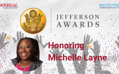 Meet Michelle Layne: Donegal Jefferson Award Winner