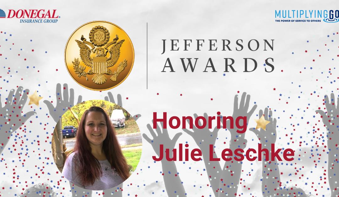Meet Julie Leschke: Donegal Jefferson Award Winner