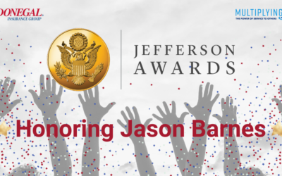 Meet Jason Barnes: Donegal Jefferson Award Winner