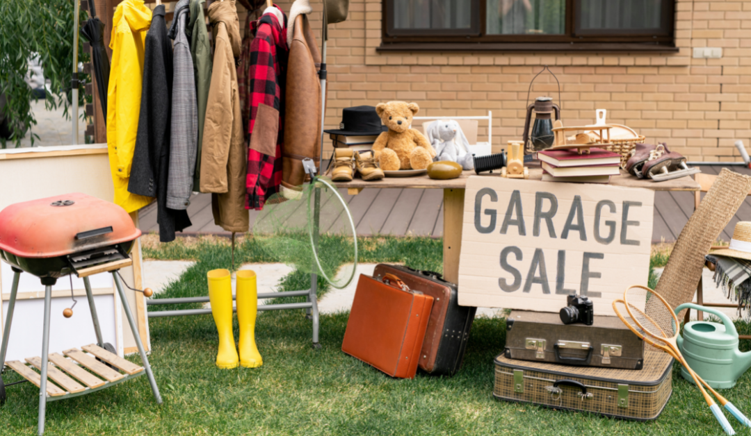 Planning a Garage or Yard Sale? Prime Yourself on Liability First
