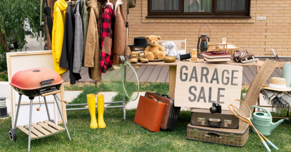 Yard Sale Blog Image
