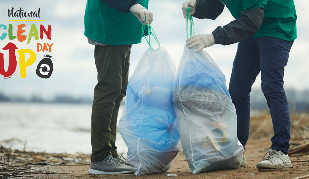 National CleanUp Day is Sept. 18th: Find an event near you!